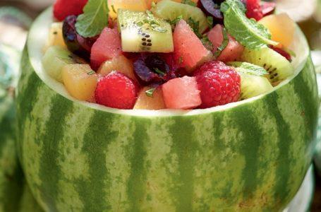 Une belle salade de fruits