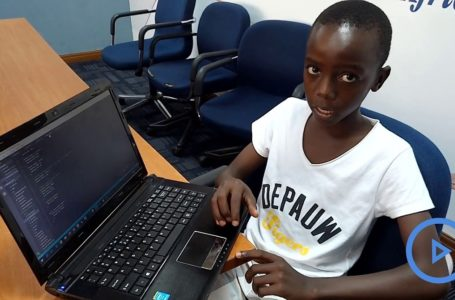 KENYA/ Charbel Ngeti: A 12 ans ce jeune crée un site web pour une société de vente de voitures