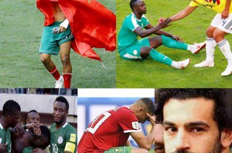 L'Afrique quitte la coupe du monde