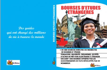 Livre /Guide pour les Bourses d'études étrangères
