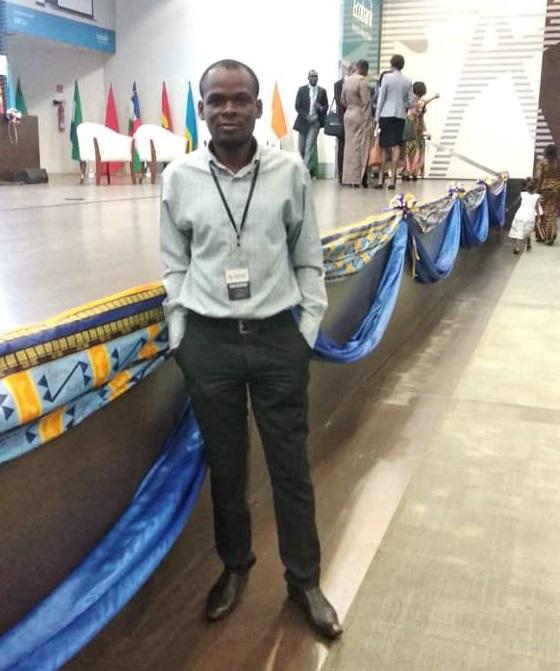Kodjo Miboboné Dorkenoo  au Leadership Africa summit de Lomé