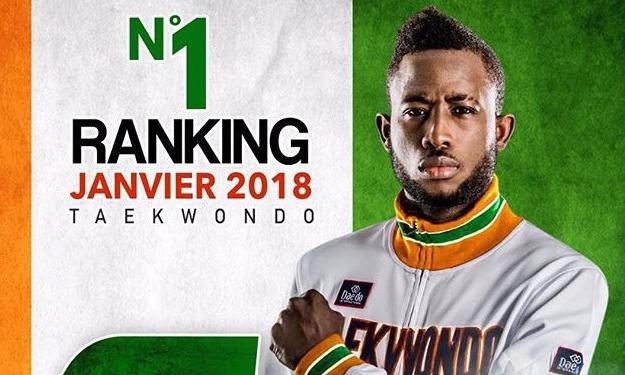 Cheick Cissé, médaillé d'or au jeux africains catégorie 80 kg