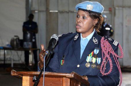 ONU: la Commandante Seynabou Diouf lauréate du Prix de la policière 2019