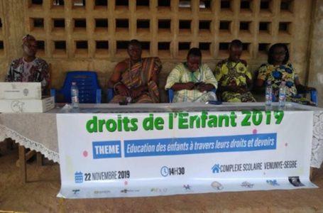 Togo/vidéo: L'ONG VED a honoré la Journée internationale des droits de l'enfant 2019