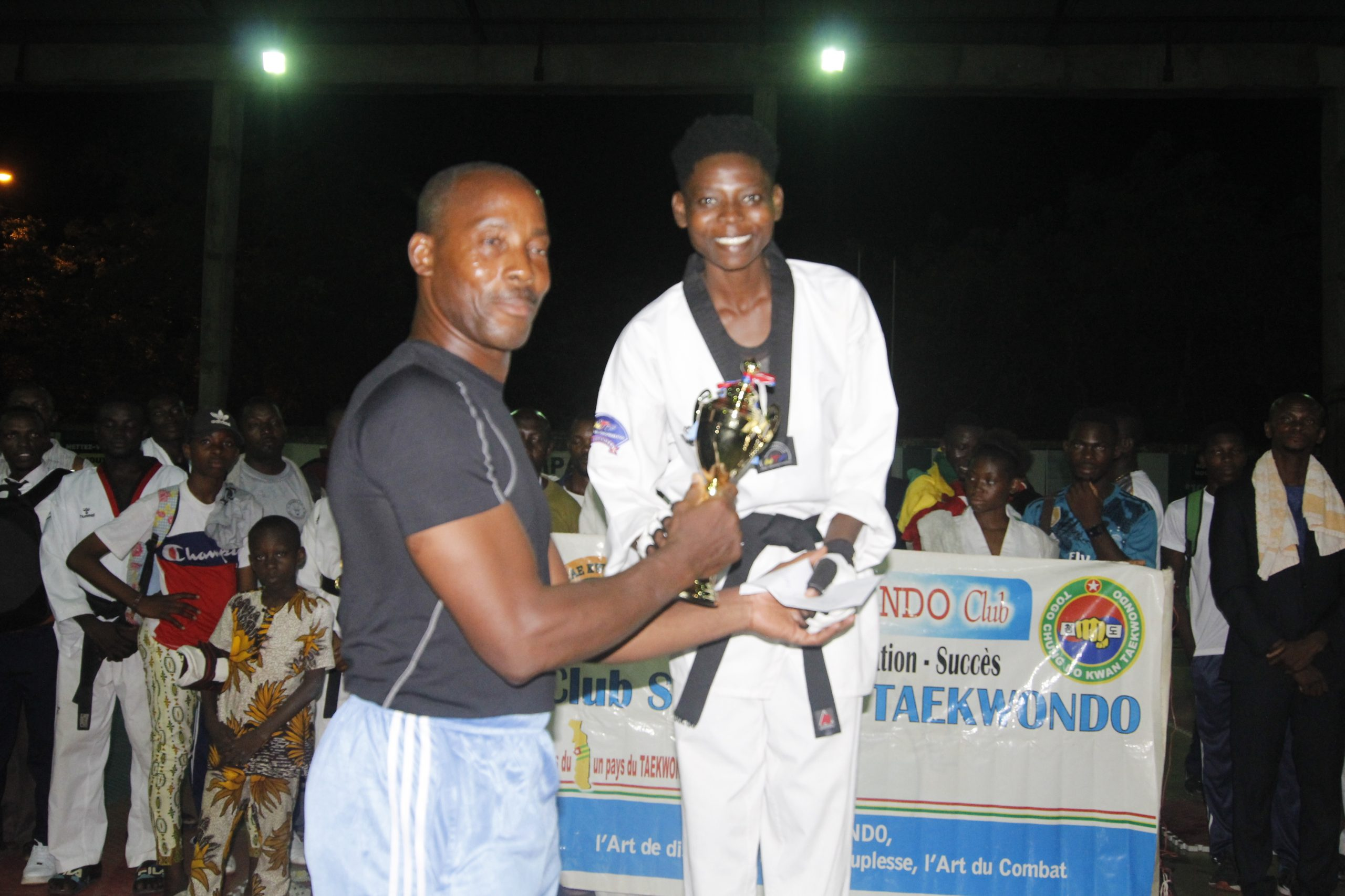 Taekwondo/Germaine Sofonké EKLOU la championne incontestée des -57kg
