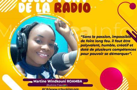Martine ROAMBA, une journaliste pleine au Burkina-Faso!