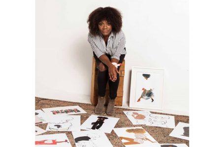 Diaspora/Sous les doigts de Nicholle Kobi, naît la femme africaine moderne.