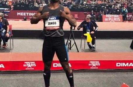 Nouveau record d'Afrique pour le triple sauteur burkinabé Hugues Fabrice Zango
