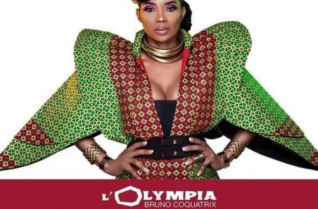 Concert : Lady Ponce à l'Olympia de Paris en présence de Samuel Eto'o
