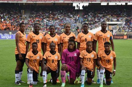Football féminin- JO 2020/ les Zambiennes à Tokyo