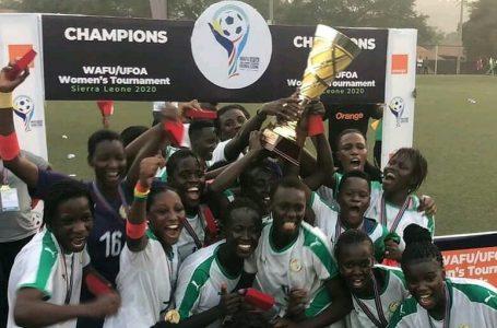 Football-Tournoi UFOA A (F)/Le Sénégal s'adjuge le tout premier trophée