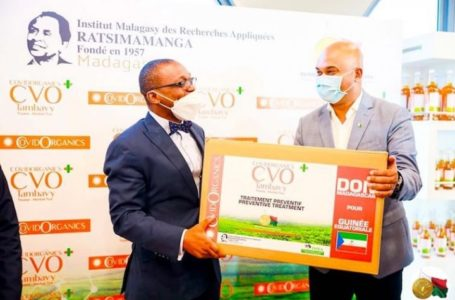 Covid-19: la Guinnée-Bissau réceptionne le covid-organics Malgache