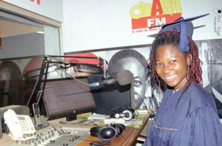 """Burkina-Faso/ Leonella OLOUKOI: """"c'est quand je prends mon salaire à la fin du mois, que je réalise que c'est un travail…"""""""