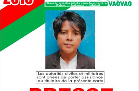 Madagascar: des journalistes prisonniers libérés par le président Rajeolina