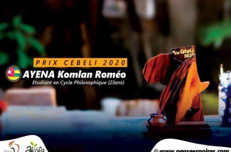 Concours Cebeli: le lauréat de l'édition 2020