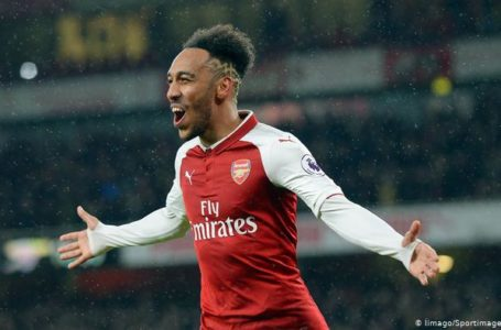 Arsenal : Aubameyang bat le record de Thierry Henry