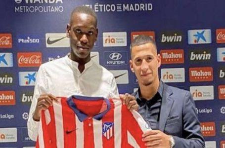 RDC FOOT/ JOËL NGOYA vient de signer un contrat de 4 ans au club  L' ATLETICO MADRID