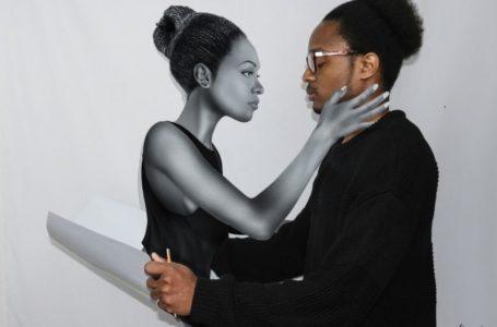 Du dessin classique au trompe d'oeil: Aurel YAHOUDEOU professionnalise sa passion d'artiste