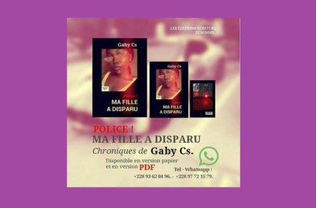 Gaby Cs fait une entrée prodigieuse dans le monde de la littérature togolaise