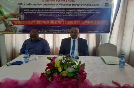 RDC/ Lutte contre le chômage :  Ezéchiel Biduaya incite les jeunes à l'entrepreneuriat