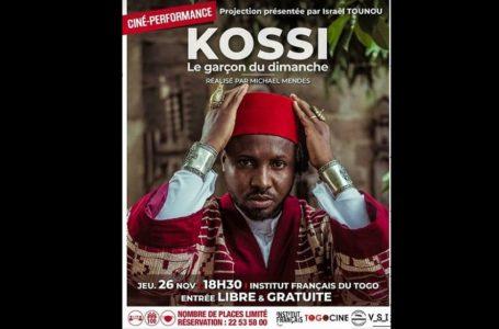 L'institut français du Togo convie la population à une projection intitulée ''Kossi le garçon du dimanche''
