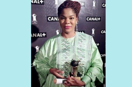 Blanche Bana, remporte le SOTIGUI AWARDS 2020