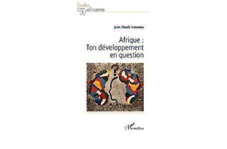 Afrique : ton développement en question, voici un livre qui suscite tout intérêt