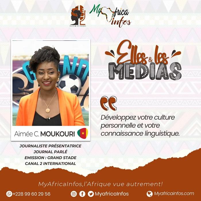 Elles Et Les Médias_Aimée_Catherine_Moukouri_MyAfrticaInfos