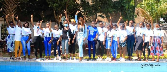 Miss Togo 2018 Ichabatou GNOGBO TCHORO a motivé les filles leurs de la journée de formation organisée par l'association Fille Au Sommet_MyAfricaInfos