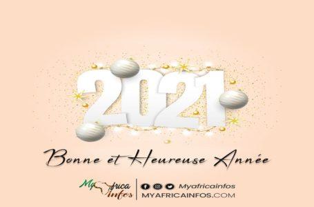 MyAfricaInfos/ Voici nos mots de remerciement et nos meilleurs vœux de bonne année à vous tous
