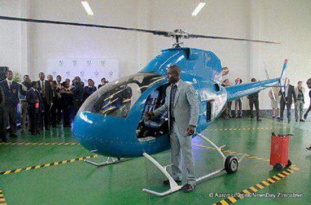Sans diplôme, un africain innove l'hélicoptère, la voiture et le drone