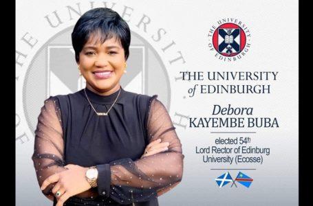 RDC/ La Congolaise Debora Kayembe, première rectrice noire de l'université d'Édimbourg (Royaume-Uni)