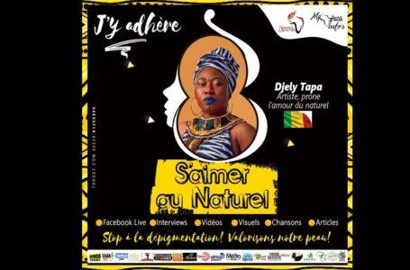 """S'Aimer Au Naturel/ """"Le choix du naturel c'est l'Amour pour soi-même"""": Djely Tapa"""