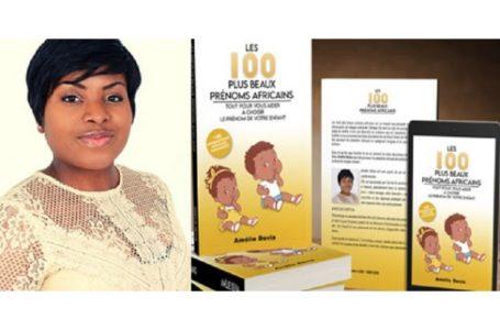 """Culture africaine/ Présentation du livre de Amélie Devia : """"Les 100 plus beaux prénoms africains"""""""