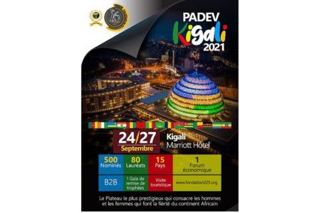 Rwanda/ 16ème édition du prix africain de développement (PADEV 2021)