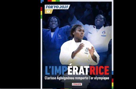 Jeux Olympiques Tokyo 2021: La Judoka Clarisse Agbegnenou décroche l'or olympique