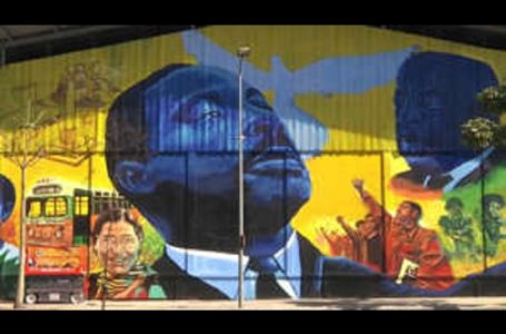 Brésil/ Célébration des leaders noirs américains et brésiliens à Rio