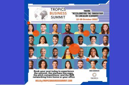 """Appel à candidatures/ Pré-incubation de projets (Afrique et Caraïbes) du sommet d'affaires sud-africain """"TROPICS BUSINESS SUMMIT"""""""