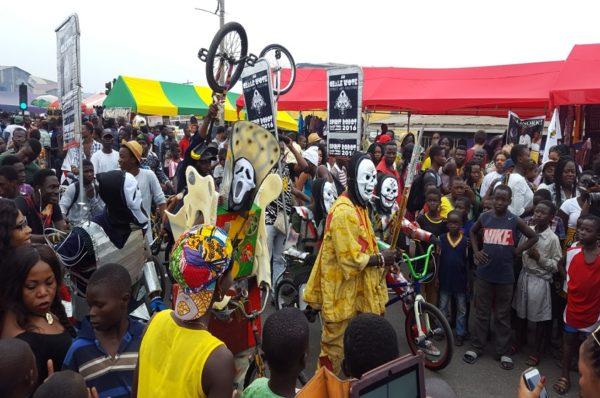Ghana/ 10e édition du festival Chale Wote à Accra